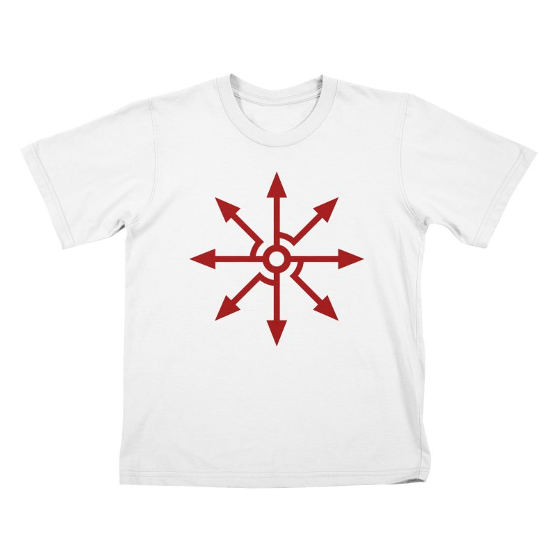 High Level: The Red King's Sigil Kids T-Shirt by Glitch Goods by Rob Sheridan