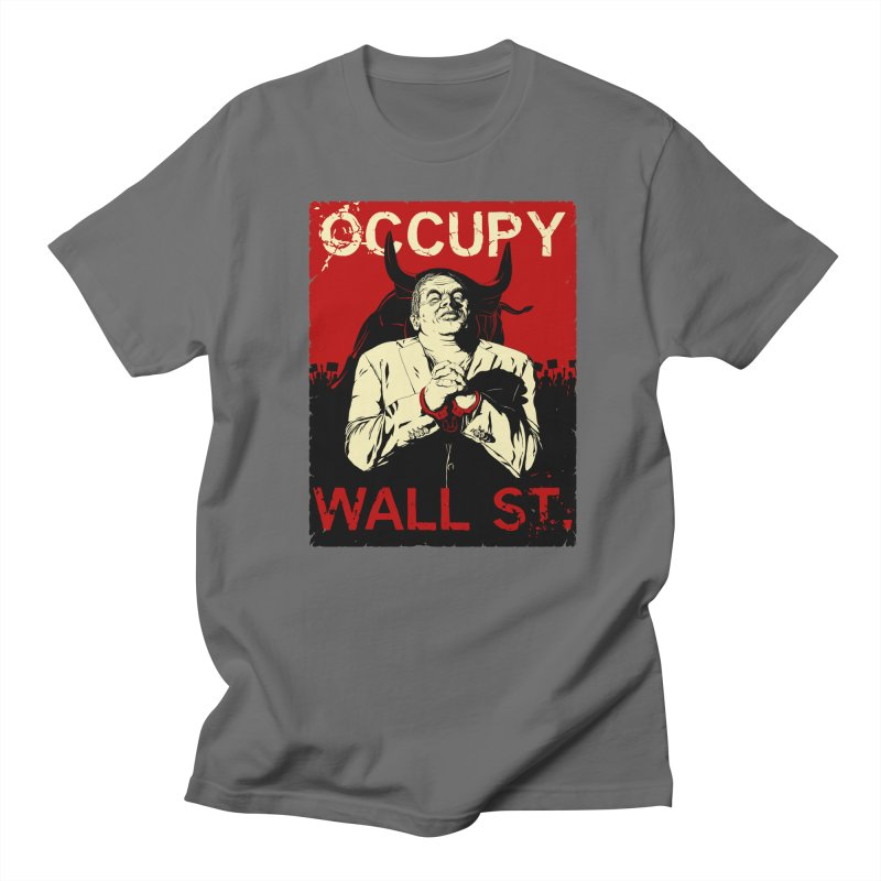 Occupy Wall Street Men's T-Shirt by Glitch Goods by Rob Sheridan