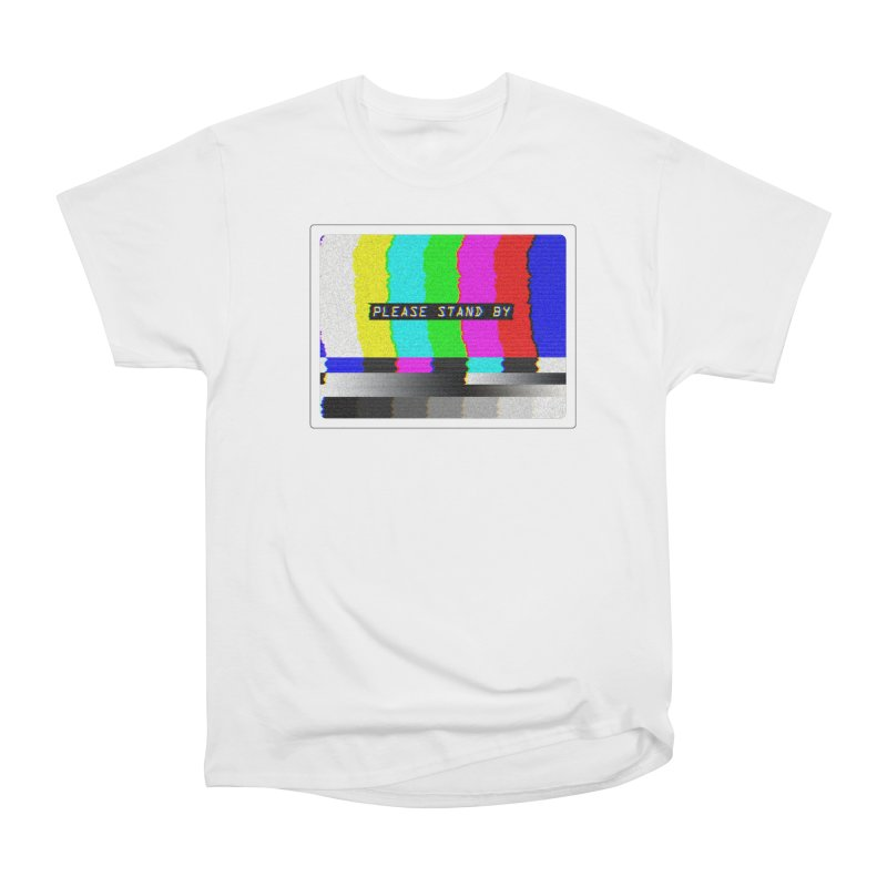 SMPTE TV Color Bars: Please Stand By Women's T-Shirt by Glitch Goods by Rob Sheridan