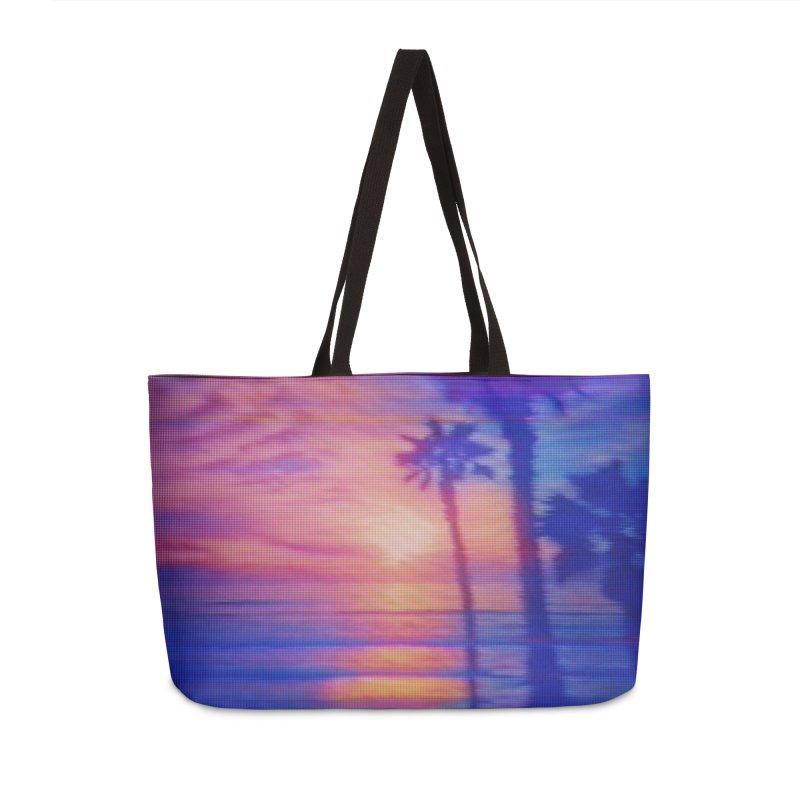 Vapor Beach Accessories & Masks Bag by Glitch Goods by Rob Sheridan