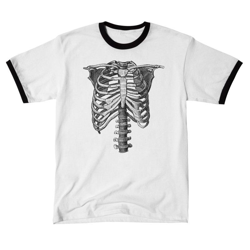 Skeleton (Black) Dual-Sided Shirt Women's T-Shirt by Glitch Goods by Rob Sheridan