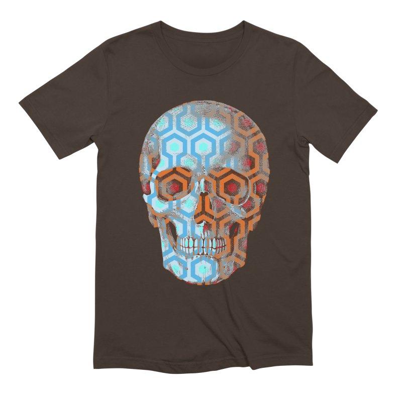 Pop Skullture: Overlook Men's T-Shirt by Glitch Goods by Rob Sheridan
