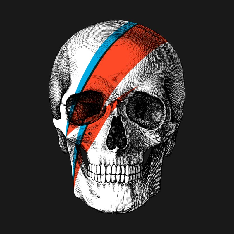 Pop Skullture: Ziggy Women's Tank by Glitch Goods by Rob Sheridan