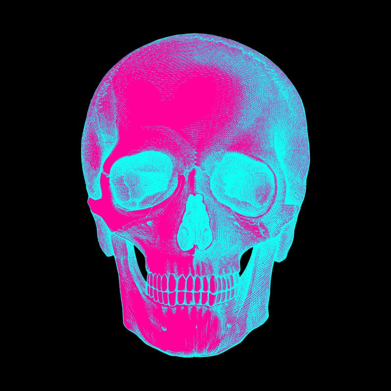 Pop Skullture: 90s Vaporwave Women's Tank by Glitch Goods by Rob Sheridan