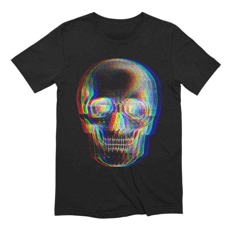 Pop Skullture: RGB Men's T-Shirt by Glitch Goods by Rob Sheridan