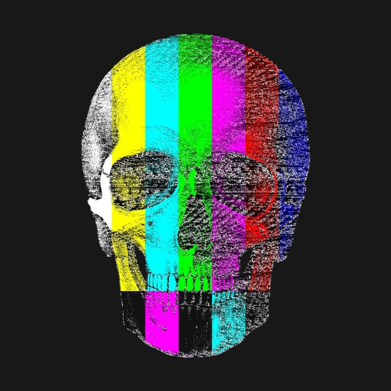 Pop Skullture: SMPTE Men's T-Shirt by Glitch Goods by Rob Sheridan