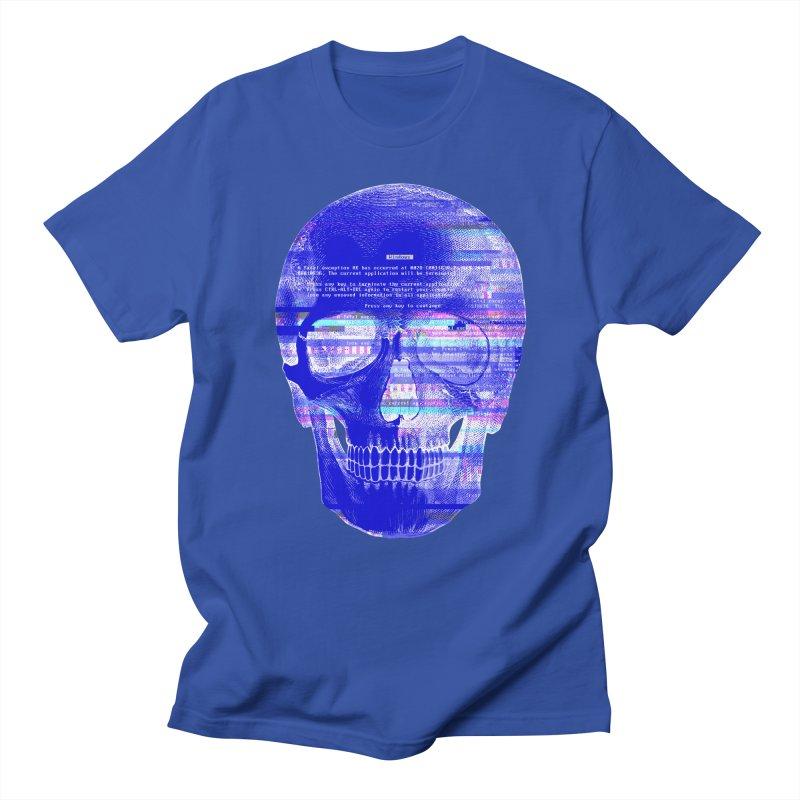 Pop Skullture: BSOD Men's T-Shirt by Glitch Goods by Rob Sheridan