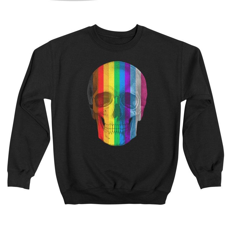 Pop Skullture: Progress Flag Men's Sweatshirt by Glitch Goods by Rob Sheridan