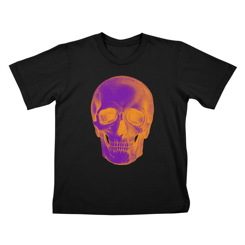 Pop Skullture: Halloween (Limited Edition) Kids T-Shirt by Glitch Goods by Rob Sheridan