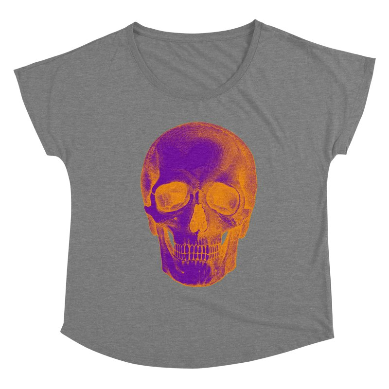 Pop Skullture: Halloween (Limited Edition) Women's Scoop Neck by Glitch Goods by Rob Sheridan