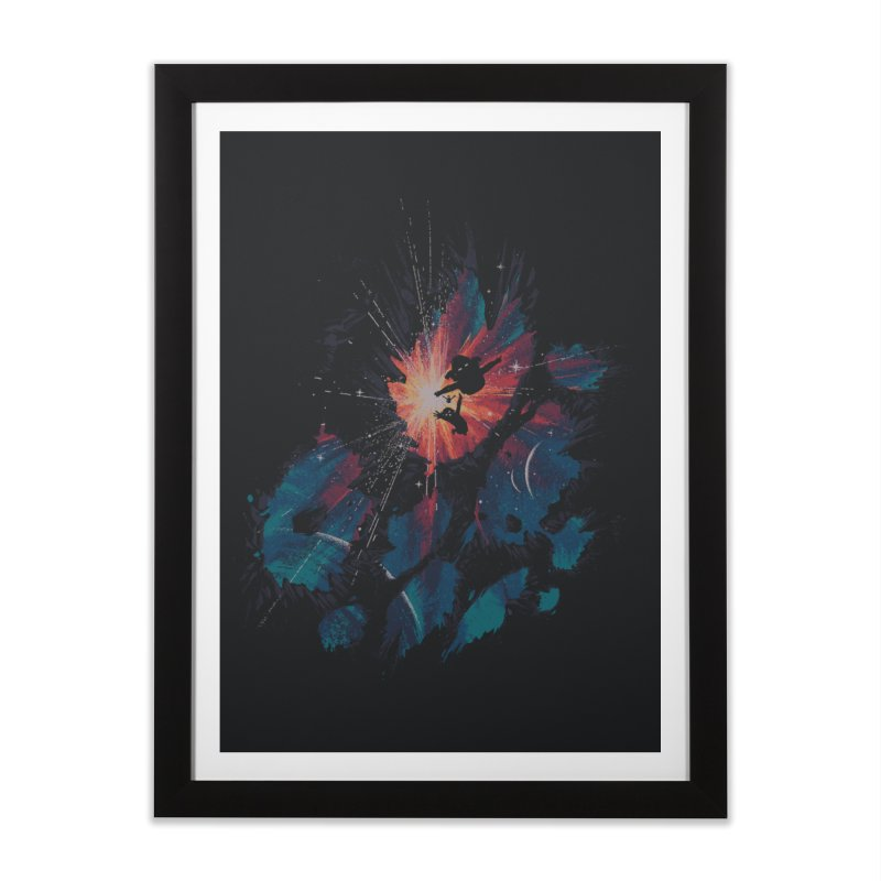 Fly With Me Home Framed Fine Art Print by