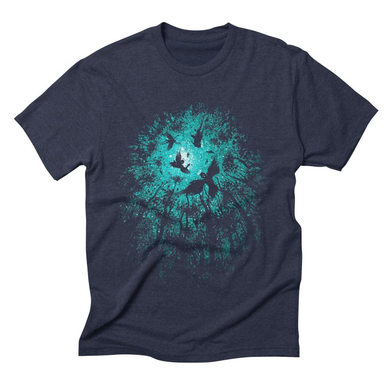Angels Men's Triblend T-shirt by Robson Borges