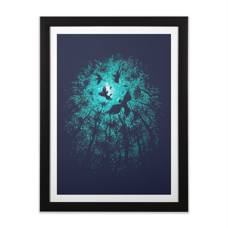 Angels Home Framed Fine Art Print by Robson Borges
