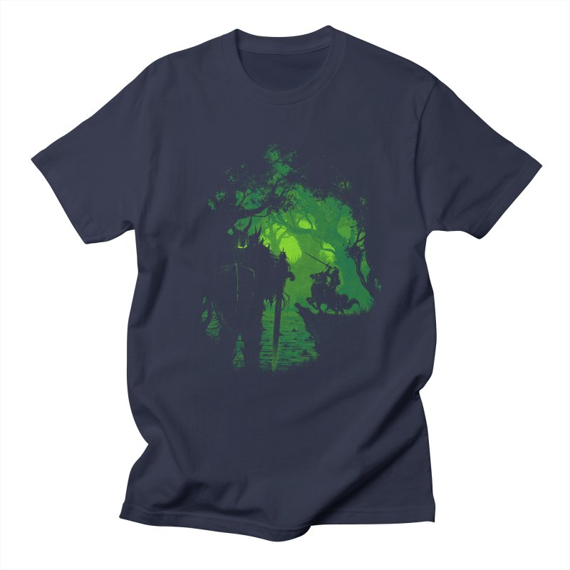 Sentinel in Men's T-shirt Navy by Robson Borges