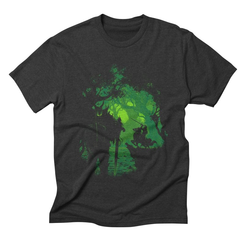 Sentinel Men's Triblend T-shirt by Robson Borges
