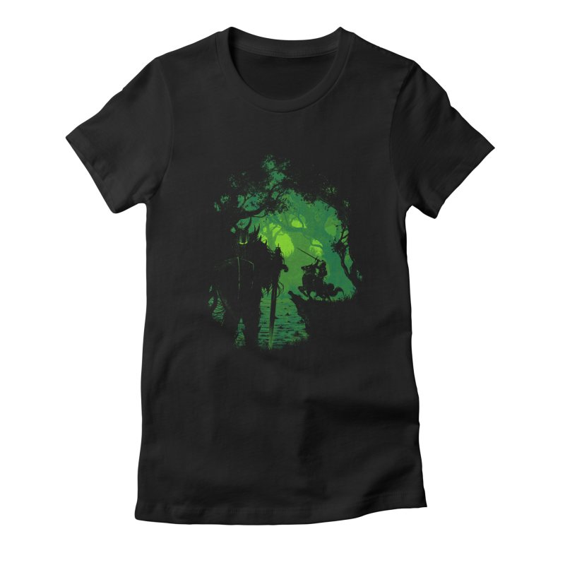 Sentinel Women's Fitted T-Shirt by Robson Borges