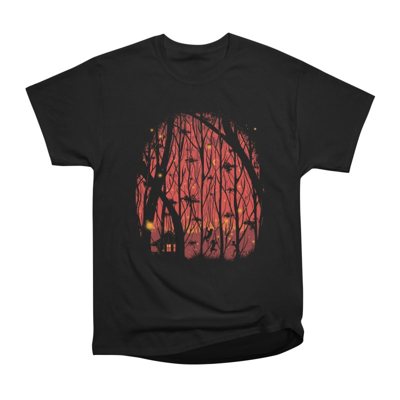 Fireflies Women's Heavyweight Unisex T-Shirt by Robson Borges