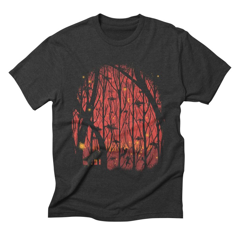 Fireflies Men's Triblend T-shirt by Robson Borges