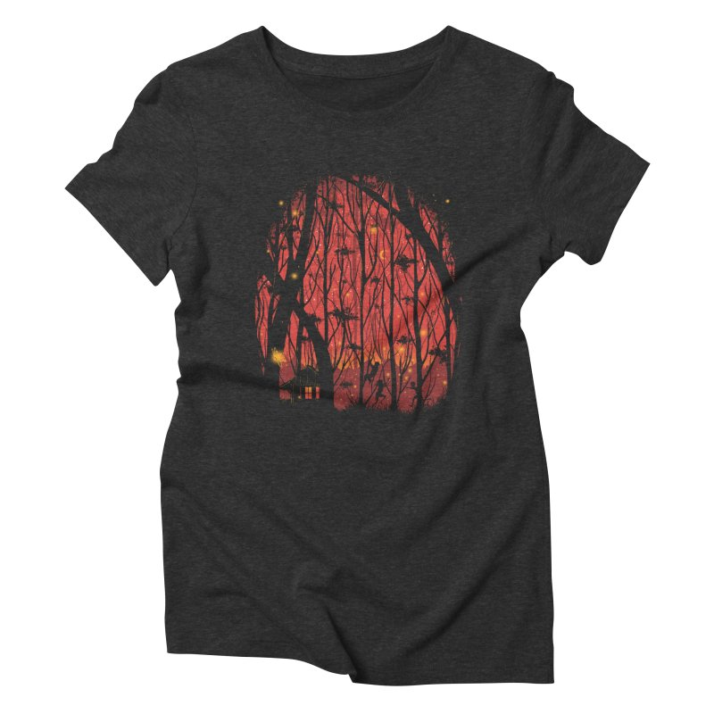 Fireflies Women's Triblend T-shirt by Robson Borges