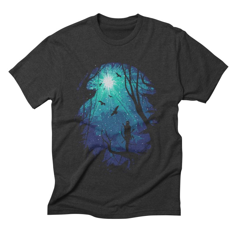 Tribute Men's Triblend T-shirt by Robson Borges
