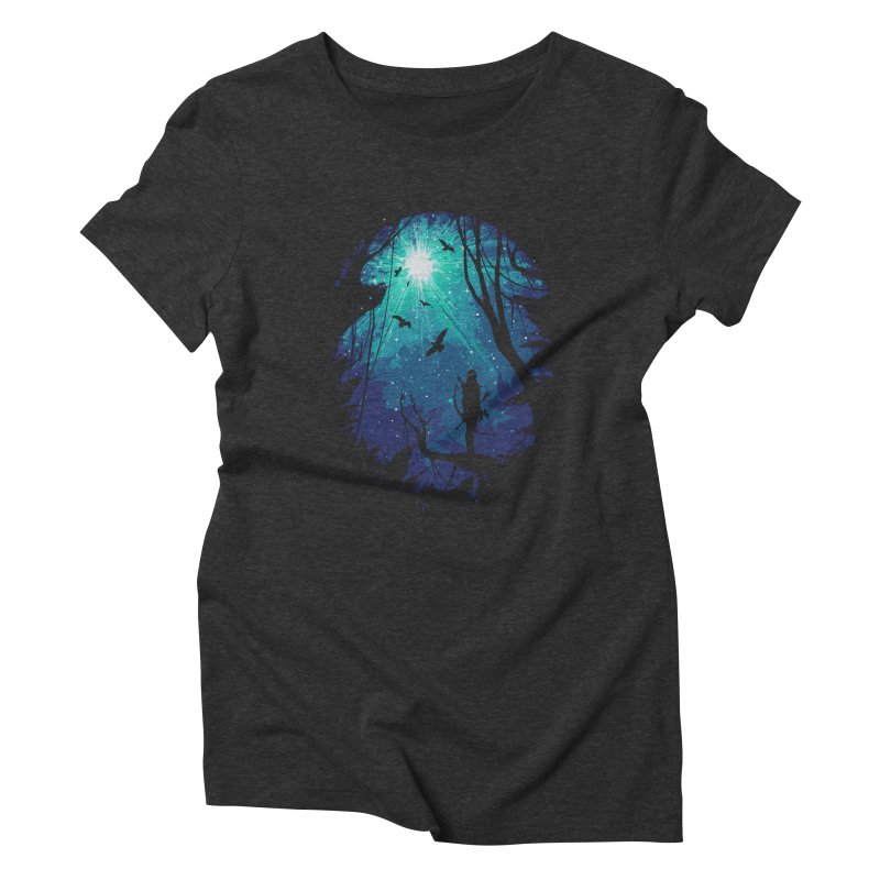 Tribute Women's Triblend T-Shirt by Robson Borges