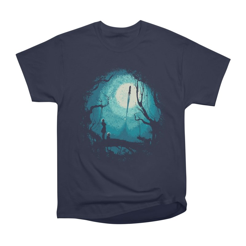 After Cosmic War II Men's Heavyweight T-Shirt by Robson Borges