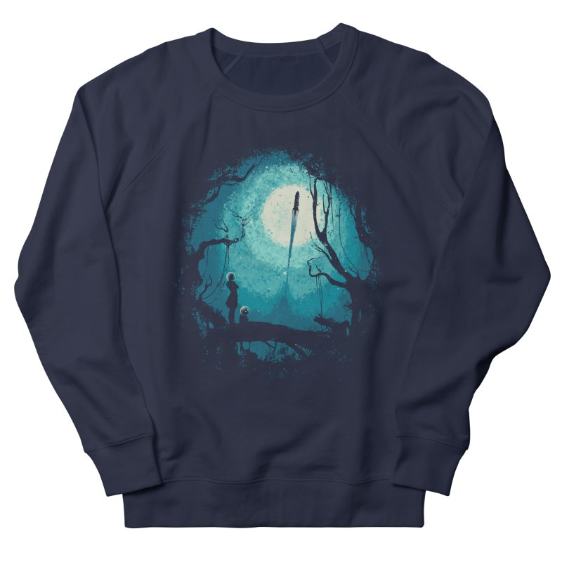 After Cosmic War II Men's Sweatshirt by Robson Borges