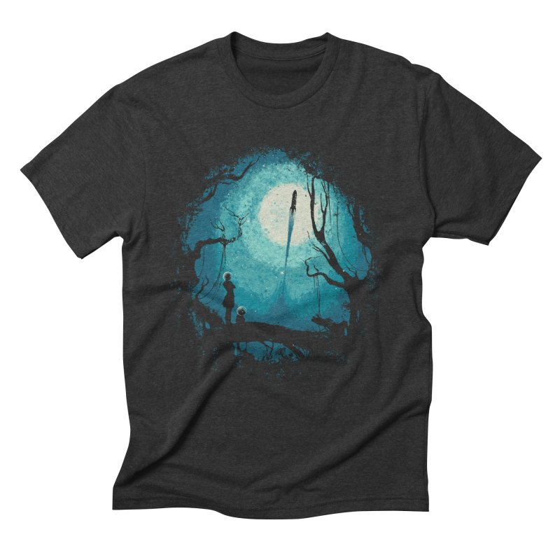 After Cosmic War II Men's Triblend T-Shirt by Robson Borges
