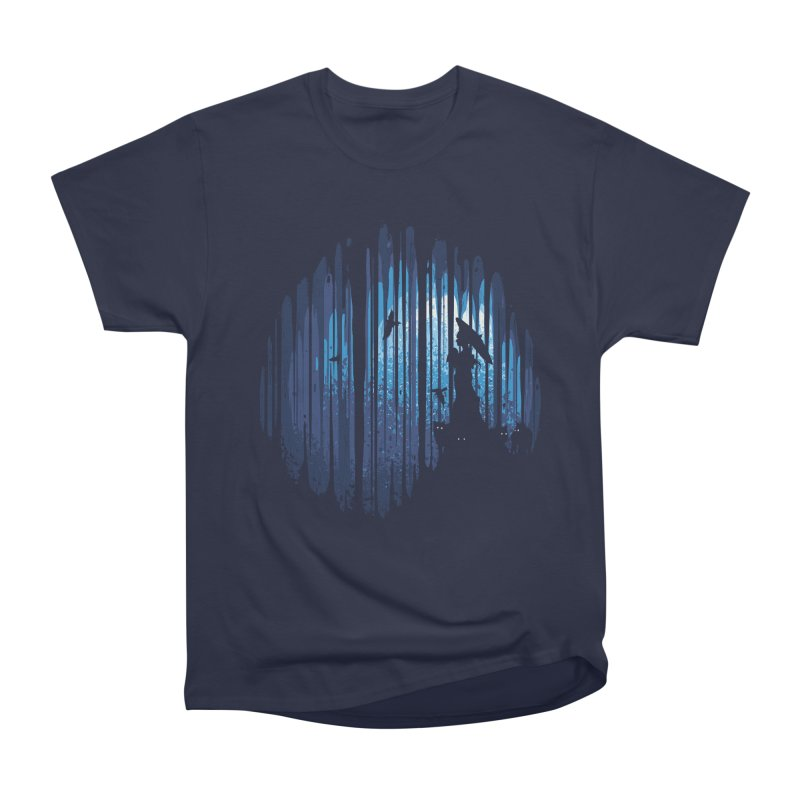 Hidden Place Women's Heavyweight Unisex T-Shirt by Robson Borges