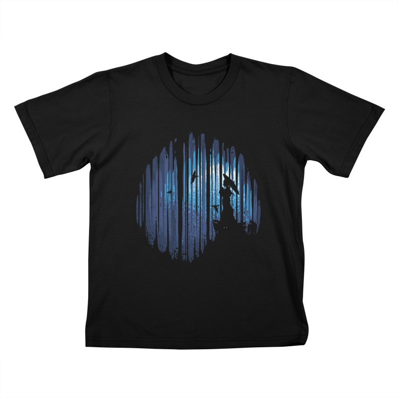 Hidden Place Kids T-Shirt by Robson Borges