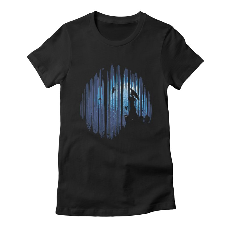 Hidden Place Women's Fitted T-Shirt by Robson Borges