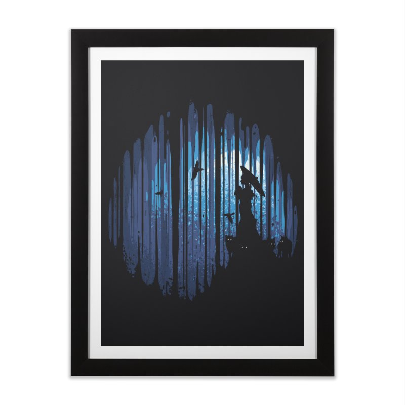 Hidden Place Home Framed Fine Art Print by Robson Borges