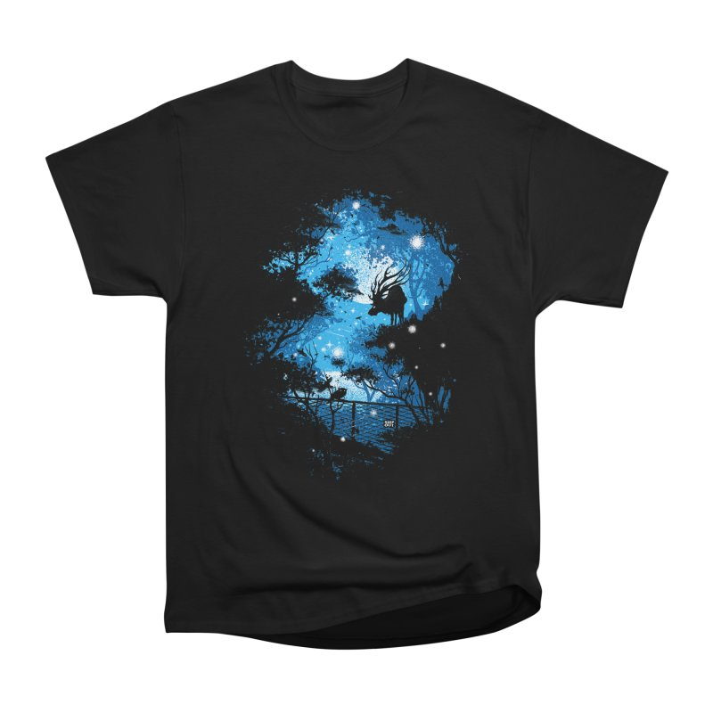 Moonlight  Men's Heavyweight T-Shirt by Robson Borges