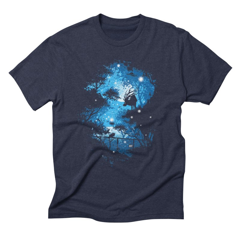 Moonlight  Men's Triblend T-Shirt by Robson Borges