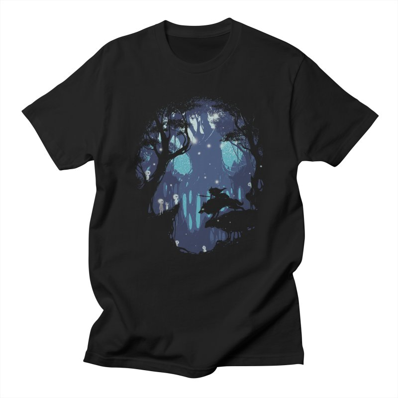Guardians II in Men's Regular T-Shirt Black by Robson Borges