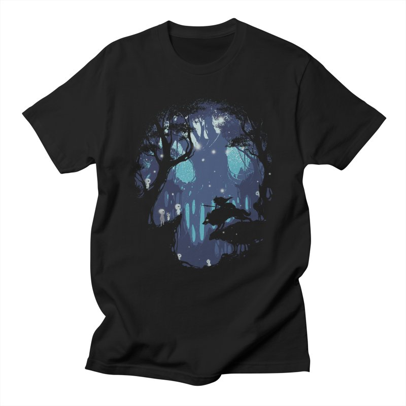 Guardians II in Men's T-Shirt Black by Robson Borges