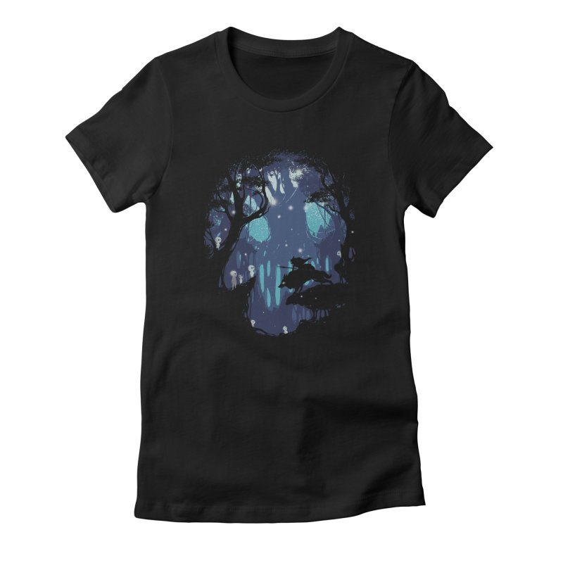 Guardians II Women's Fitted T-Shirt by Robson Borges