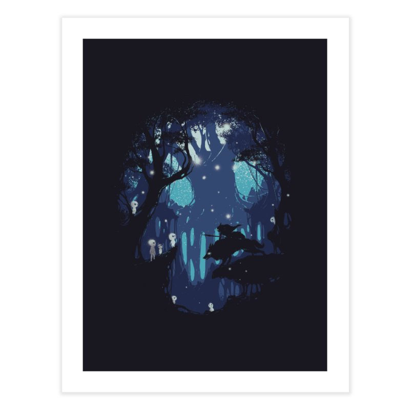Guardians II Home Fine Art Print by Robson Borges