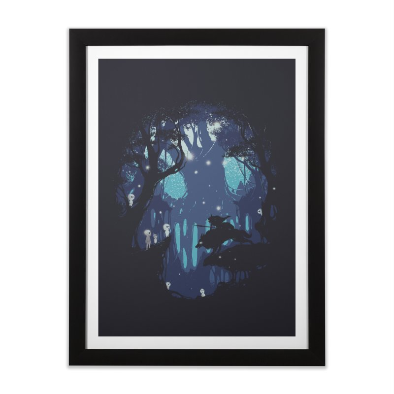 Guardians II Home Framed Fine Art Print by Robson Borges