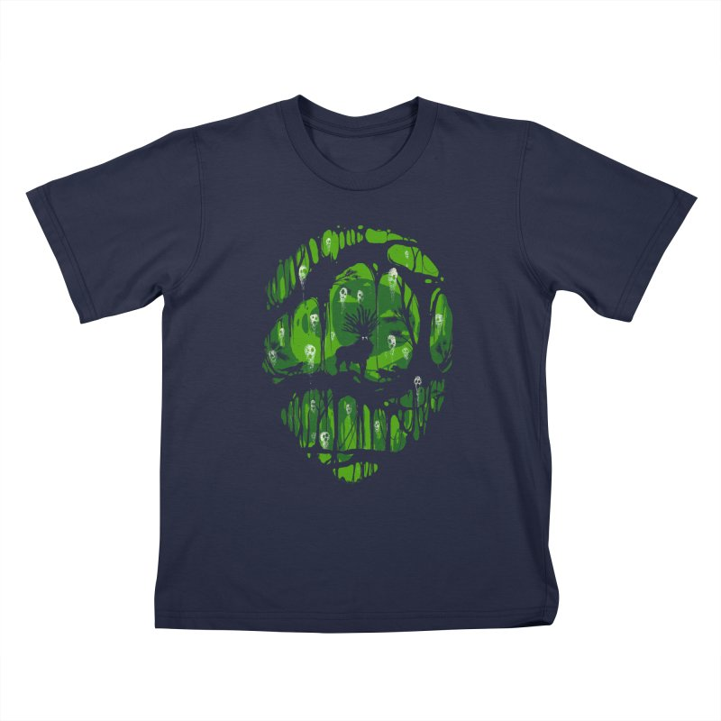 The song of spirits Kids T-Shirt by Robson Borges