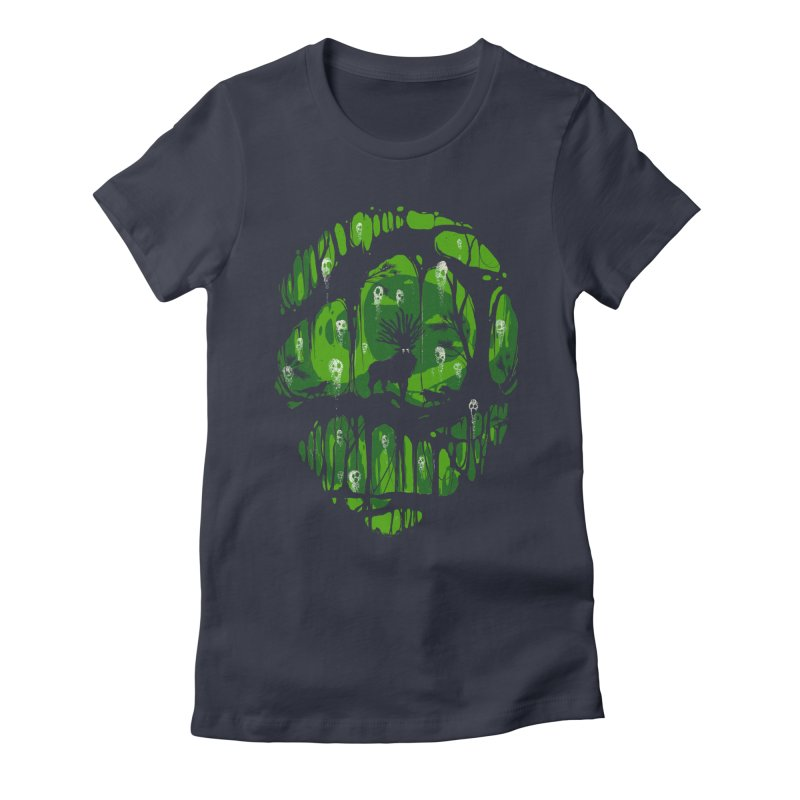 The song of spirits Women's Fitted T-Shirt by Robson Borges