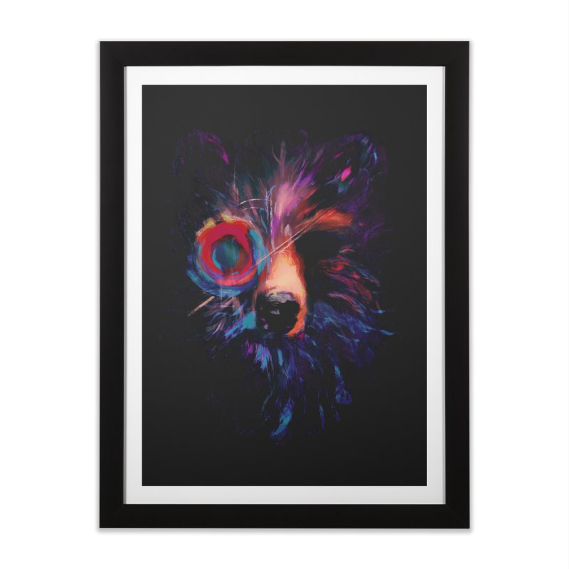 Darkling Home Framed Fine Art Print by Robson Borges