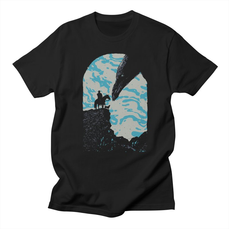 The Black Bird Men's Regular T-Shirt by Robson Borges