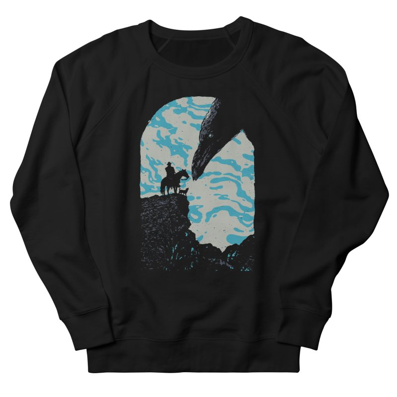 The Black Bird Men's Sweatshirt by Robson Borges