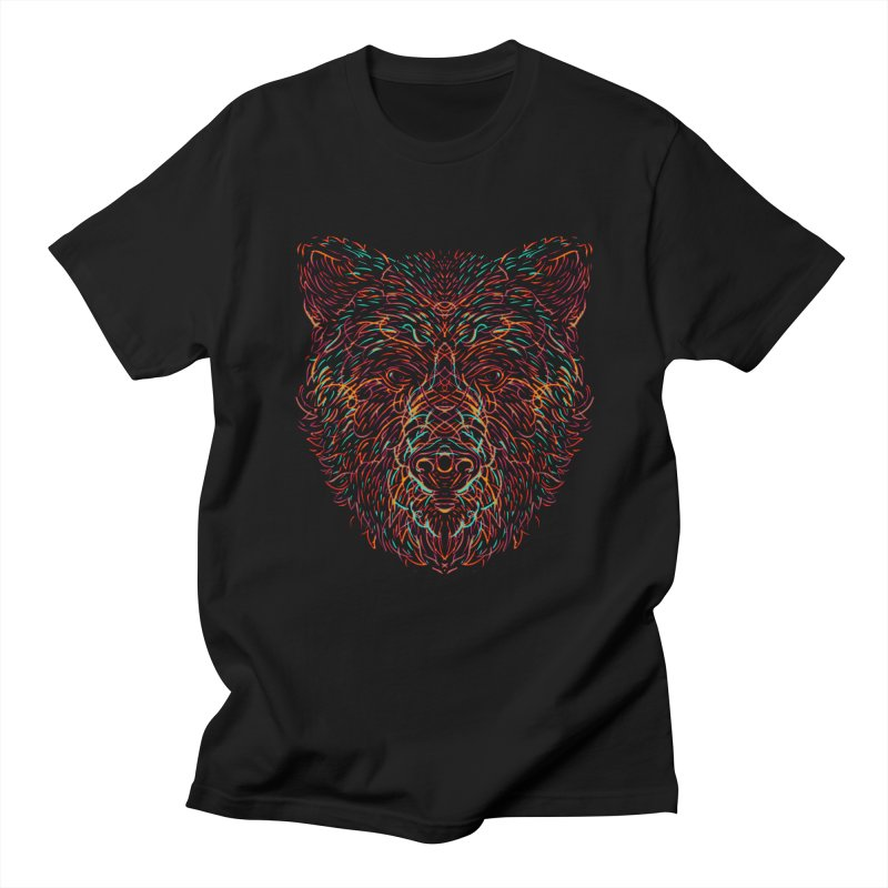 Bear For Bears Men's Regular T-Shirt by Robson Borges