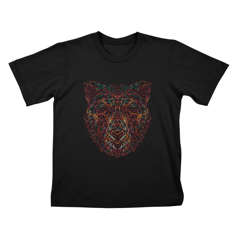 Bear For Bears Kids T-Shirt by Robson Borges