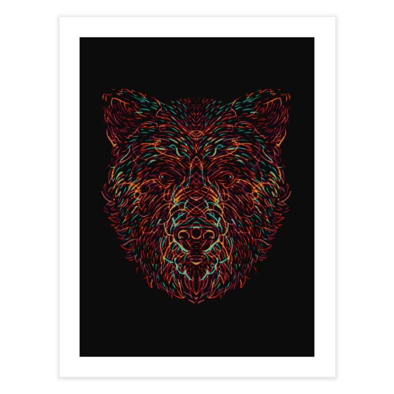 Bear For Bears Home Fine Art Print by Robson Borges