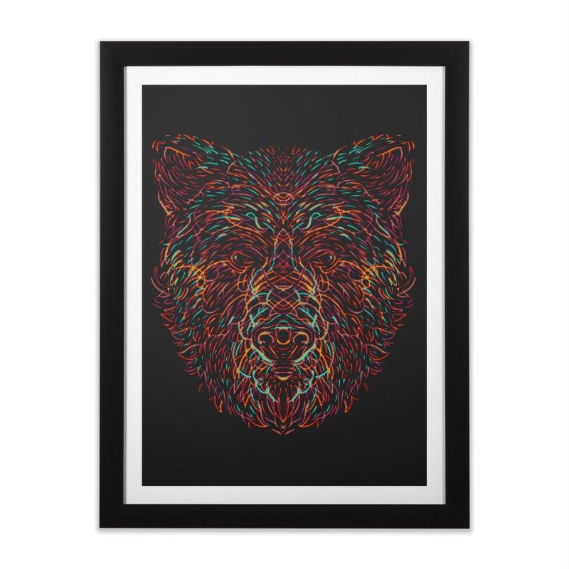 Bear For Bears Home Framed Fine Art Print by Robson Borges