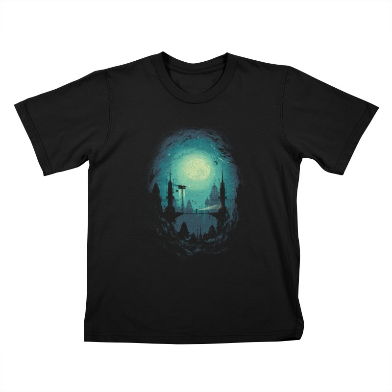 3012 Kids T-shirt by Robson Borges