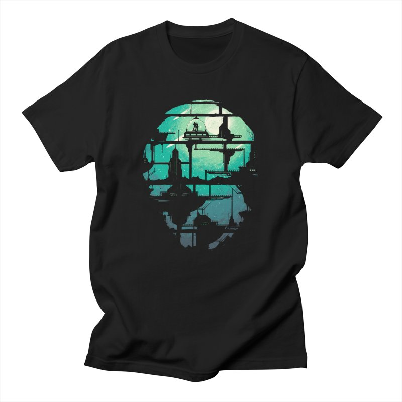 Future Shock in Men's Regular T-Shirt Black by Robson Borges
